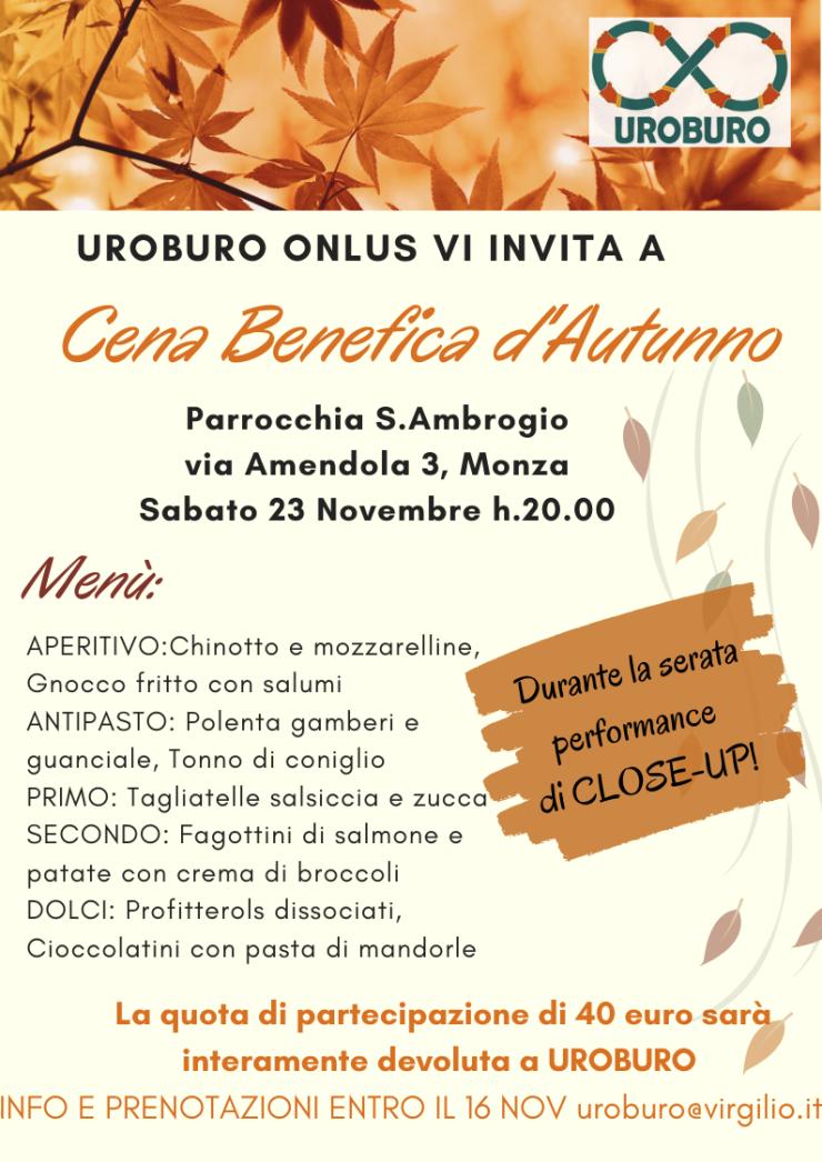UROBURO ONLUS VI INVITA A